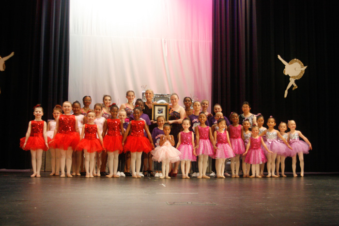 Miss Cindy's Dance Studio receives 2016 Gwinnett Readers Choice Award