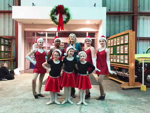 Miss Cindy's Dance Company Duluth Train Museum 1