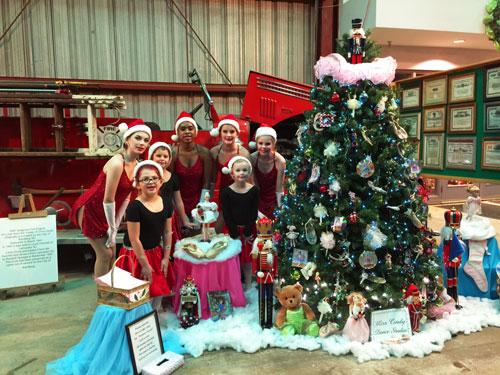 Miss Cindy's Dance Company Duluth Train Museum 2